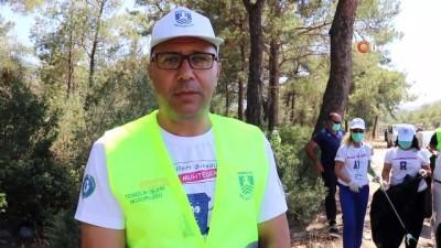 yansima -  Bodrum'da 50 kilometrelik yol temizliği