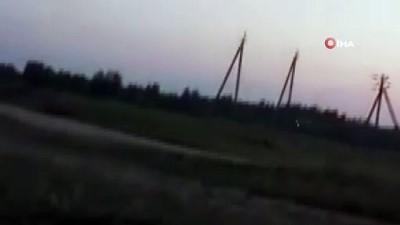 yuksek gerilim -  - Rusya'da kanatlı planör yüksek gerilim hattına takıldı: 2 yaralı