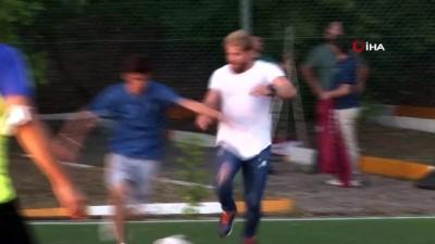 futbol maci -  İsmail Balaban'dan ezeli rakibi Ali Gürbüz'e geçmiş olsun mesajı