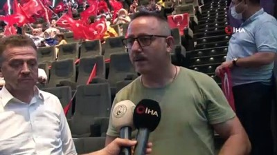 osmanpasa -  15 Temmuz gazisi köprüde yaşadıklarını gözyaşları içinde izledi