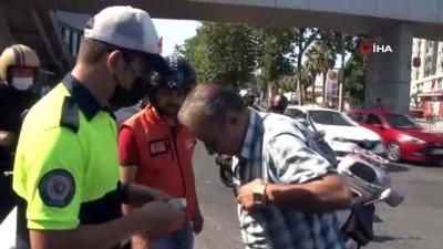 memur -  Beyoğlu'nda motosiklet denetimi