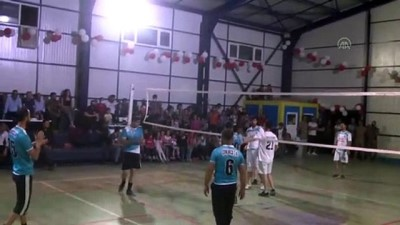masa tenisi - HAKKARİ - Çukurca'da kurumlar arası spor müsabakaları tamamlandı