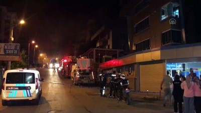 supermarket - KARABÜK - Bir süpermarkette çıkan yangın büyümeden söndürüldü