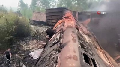 - Rusya'da tren kazası: 2 ölü