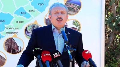 restorasyon - TEKİRDAĞ - TBMM Başkanı Şentop, restorasyonu tamamlanan tarihi Güzelköy Camisi'nin açılışını yaptı (2)
