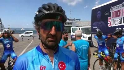 darbe girisimi - YALOVA - Ömer Halisdemir 5. Ulusal Bisiklet Turu