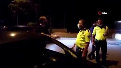 Alkollü sürücüden ilginç cevap: '2-3 bira içmişim evime gidiyorum, yakaladınız'