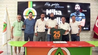 milli takim - Alanyaspor, Slovenyalı stoperle ile 3 yıllık sözleşme imzaladı