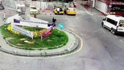 muhalefet -  İstanbul'da korkunç cinayet kamerada: Yaralı halde motorla kaçtı, hastanede öldü