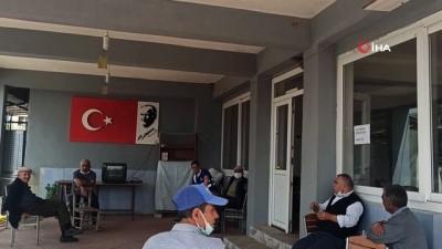 kahvehane -  İzmir'de içleri ısıtan görüntü...Yuva bozulmasın diye tahta ile önlem aldılar