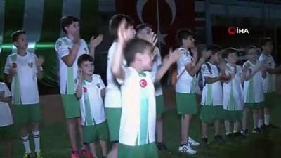 havai fisek - Kestel Belediyespor'un 69. yıldönümü coşkuyla kutlandı