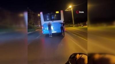 tehlikeli yolculuk -  Trafikteki tehlikeli yolculuklar pes dedirtti