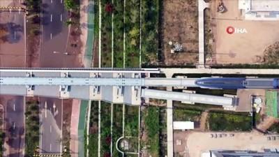 - Çin, saatte 600 kilometre hıza çıkabilen maglev trenini tanıttı