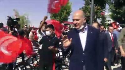 bayram hediyesi -  İçişleri Bakanı Soylu, Şırnak'ta halkla bayramlaştı