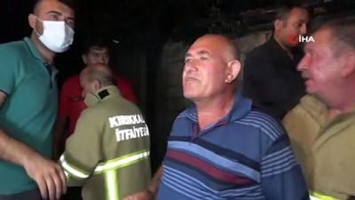 Kırıkkale'de tüp patladı: 1 saat arayla faciadan döndüler