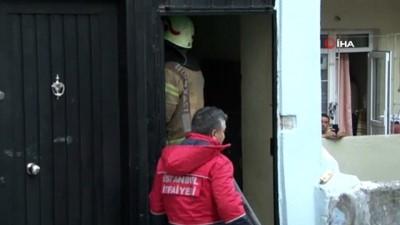 yangin panigi -  Kurban Bayramı'nda yangın paniği: 4 katlı binanın çatı katı alev alev yandı