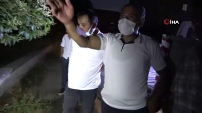 alkol -  Parkta alkol alırken ateş yakan şahıs kendini yaktı Videosu