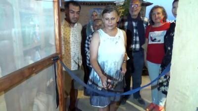 heykel -  Sanatçıların köyünde sanat evi ve sergisi açıldı