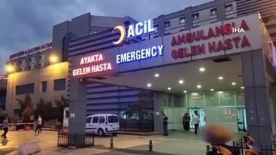 trafik polisi -  11 yaşındaki çocuk gizlice anahtarını aldığı araçla kaza yapıp yaralandı