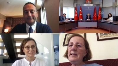 siyasi parti - ANKARA - CHP'nin siyasi partilerle video konferans aracılığıyla bayramlaşması tamamlandı (2)