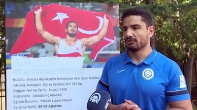 milli guresci - ANKARA - Olimpiyat şampiyonu milli güreşçi Taha Akgül, Tokyo'da da zirveyi hedefliyor