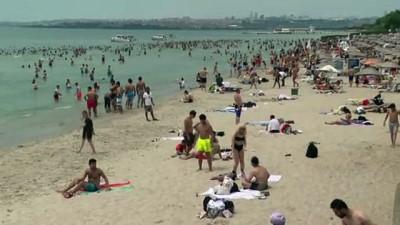 golgeli - İstanbullular, Kurban Bayramı'nın 2. gününde sahil ve parklarda zaman geçirdi