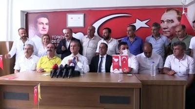 siyasi parti - ELAZIĞ - TDP Genel Başkanı Mustafa Sarıgül, partililerle buluştu