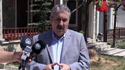 ESKİŞEHİR - Cumhurbaşkanı Erdoğan'ın KKTC ziyaretine katılan BBP Genel Başkanı Destici'den değerlendirme