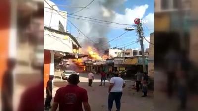 cokme -  - Gazze'de pazar alanındaki patlamanın bilançosu belli oldu: 1 ölü, 10 yaralı Videosu