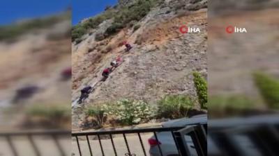 kurtarma operasyonu - Milli dağcı antrenman için çıktığı dağda mahsur kaldı