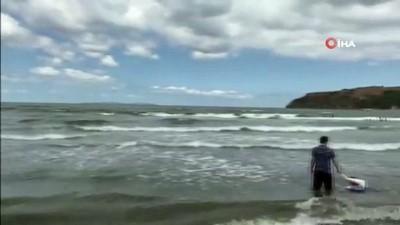 yuzme -  Şile'nin ardından Marmara'nın bu sahillerinde de denize girmek yasaklandı