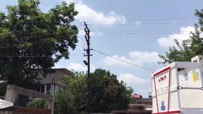 yuksek gerilim - ADANA - Elektrik akımına kapılan kişi yaşamını yitirdi