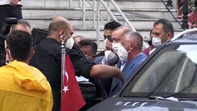 makam araci - ARTVİN - Cumhurbaşkanı Erdoğan, Arhavi'den ayrıldı