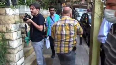 BEYRUT - Cansuyu Derneği Beyrut'taki ihtiyaç sahibi ailelere gıda yardımı yaptı