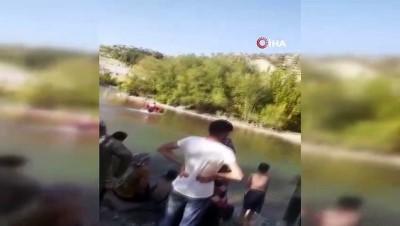 sudan -  Çocuklarını kurtarmak için suya atlayan baba yaşamını yitirdi