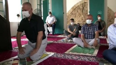 restorasyon - GAZİMAĞUSA - Kapalı Maraş'ta 47 yıl sonra ibadete açılan Bilal Ağa Mescidinde ilk cuma namazı kılındı