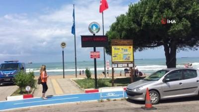 para cezasi -  İnkumu Plajı'nda denize girmek yasaklandı
