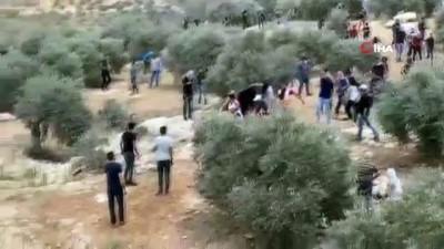 goz yasartici gaz -  - İsrail güçlerinden Nablus'ta Filistinlilere gerçek ve plastik mermili müdahale: 146 yaralı