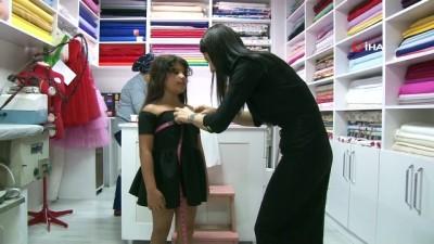 Kızı için diktiği elbise hayatını değiştirdi, şimdi dünyaya ihraç ediyor