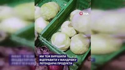 supermarket -  - Ukraynalı süpermarket zincirinden ilginç reklam kampanyası: Uzaya çorba ve ekmek gönderildi
