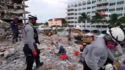 cokme -  - ABD'de çöken binada arama çalışmaları sonlandırıldı - Faciada 97 kişi hayatını kaybetti, 1 kişiye ulaşılamadı Videosu