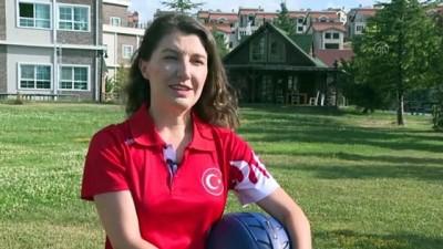 milli takim - ANKARA - Milli paraşütçü Merve Gülşah Arslan'dan 'uçuş rekoru'