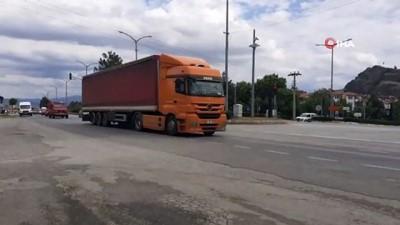 guzergah -  D-100 Karayolu bayram dönüşü trafik yoğunluğu başladı