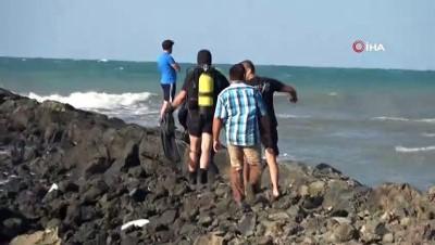 112 acil servis -  Denizde kaybolan şahsın cesedi bulundu