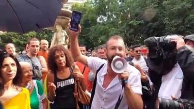 "protesto - MİLANO - İtalya'da ""Yeşil Geçiş"" belgesi protesto edildi"