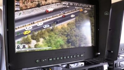 MUĞLA - Milas-Bodrum kara yolunda helikopter destekli denetim yapıldı