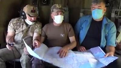 para cezasi - OSMANİYE - Jandarma ve emniyetten helikopterli trafik denetimi