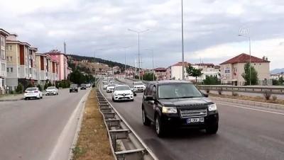 guzergah - SAMSUN - Kurban Bayramı tatili dönüşü trafik yoğunluğu yaşanıyor