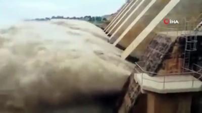 sel baskinlari -  - Sudan'daki Mavi Nil'in su seviyesinde rekor artış: Sel uyarısı yapıldı Videosu