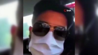 Taksi şoförü ile tartışan Yusuf Güney o anları sosyal medya hesabından paylaştı
